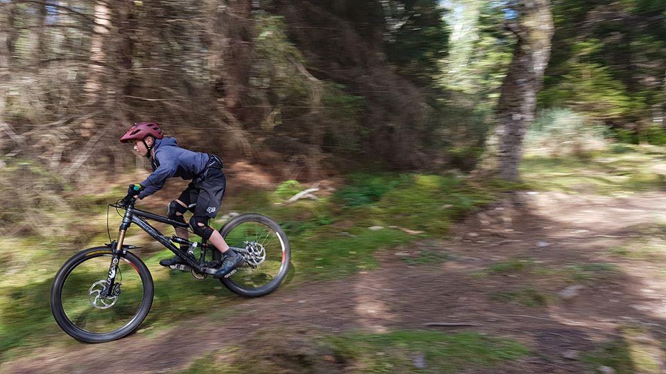 Mountain bike trails at Fairburn