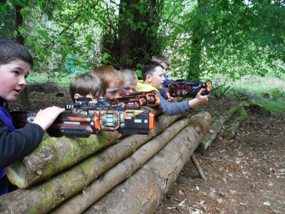Take up aim with Lazertag at Fairburn.