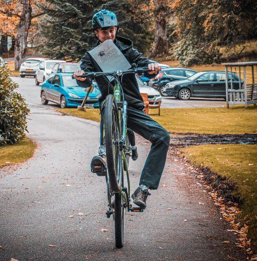 mountain biking at Fairburn