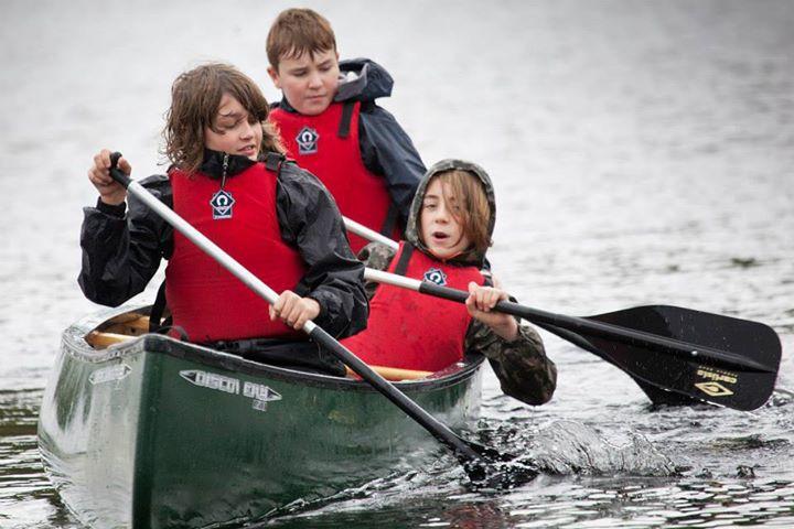 Canoeing at Fairburn