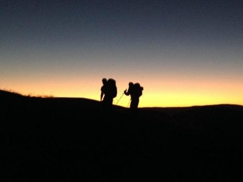 Night navigation with Fairburn activity centre